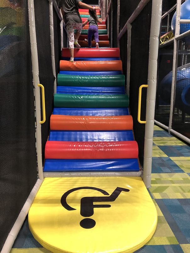 This Handicap Accessible Play Structure