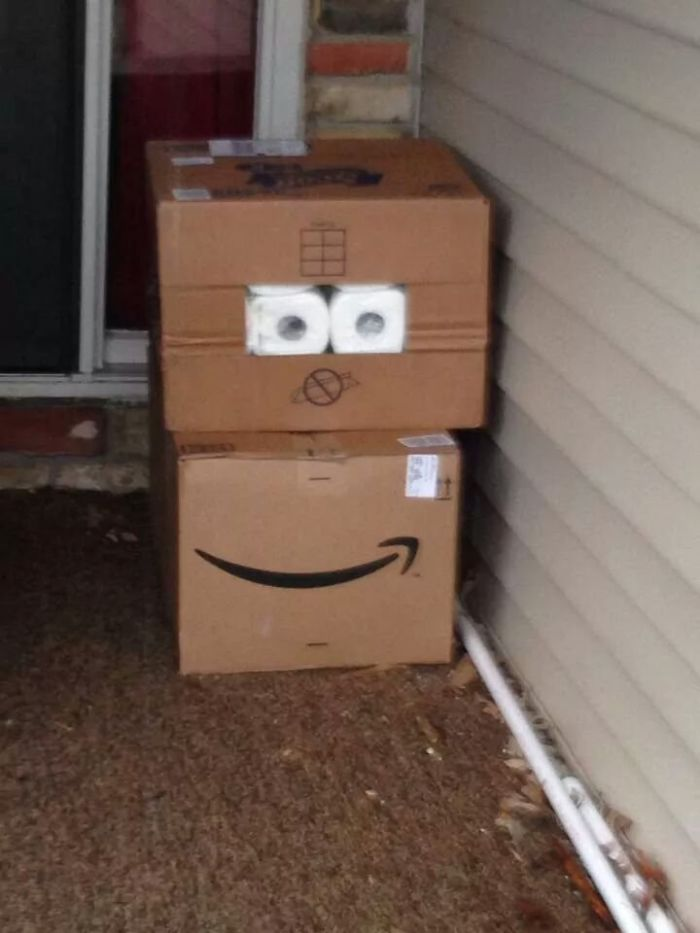 UPS Driver With A Sense Of Humor