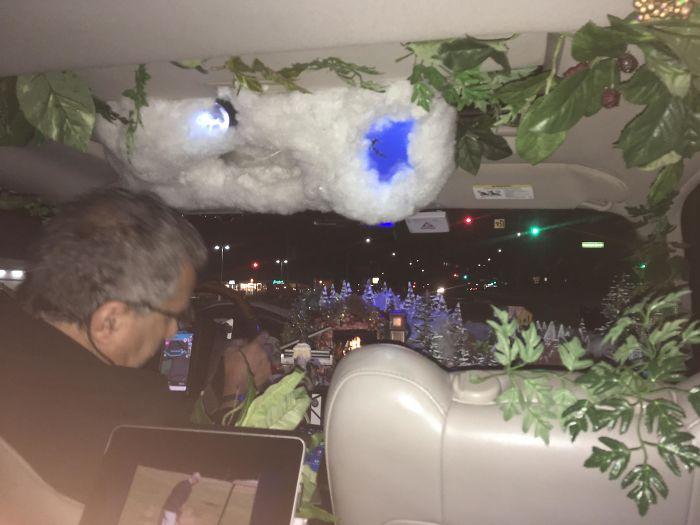 My Uber Driver's Car