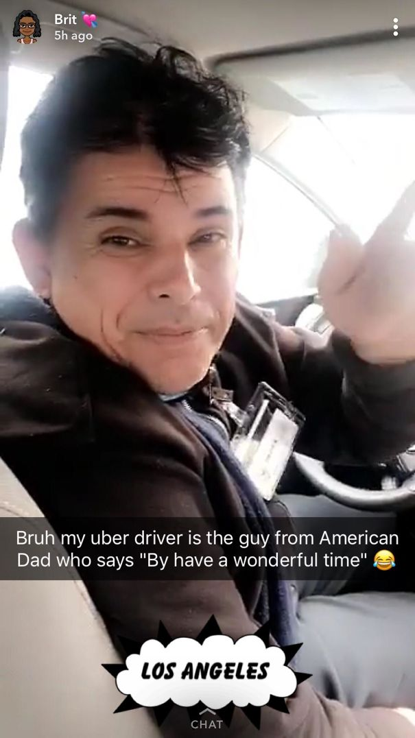 My Sister's Friend's Uber Driver