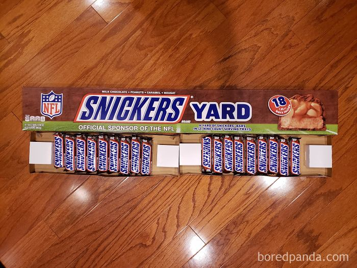 I Guess 2 Feet Of Snickers Wasn't As Catchy