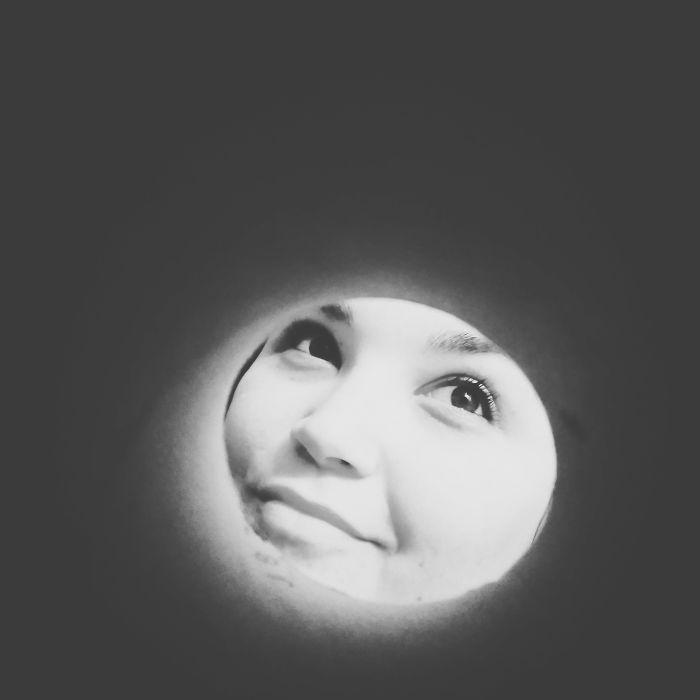 Pensive Moon