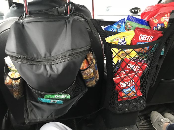 My Uber Driver In Chicago Had Snacks That You Were Free To Take
