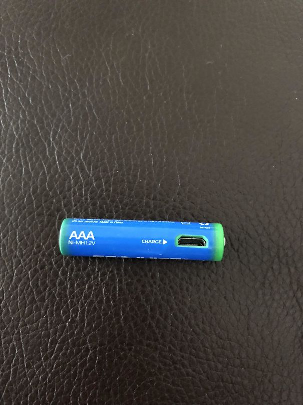 You Can Charge This Battery With A Micro USB