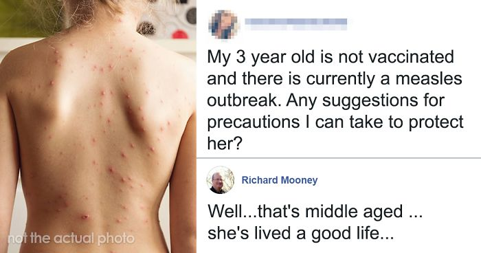 Anti-Vaxx Mom Asks How To Protect Her Unvaccinated 3-Year