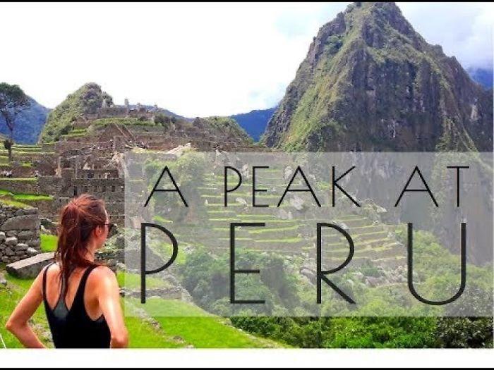 A Sneak Peak At Peru