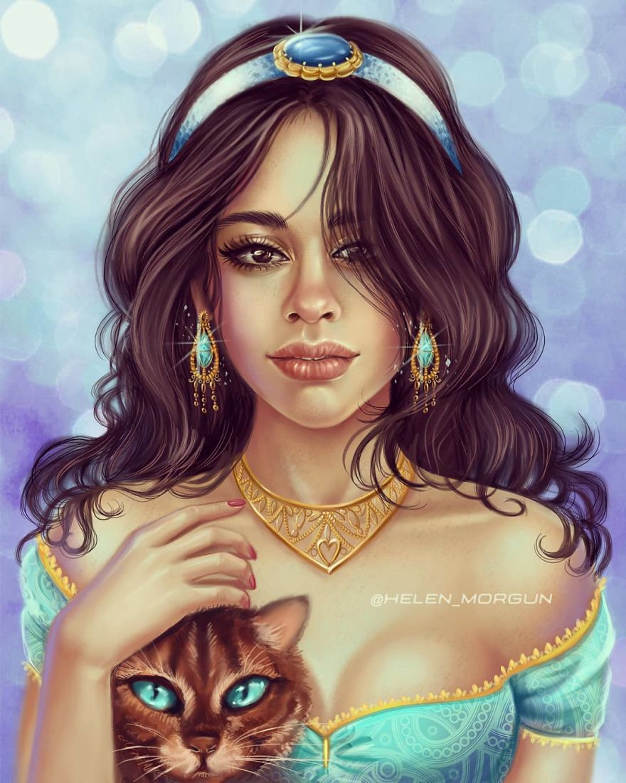 Camila Cabello As Jasmine