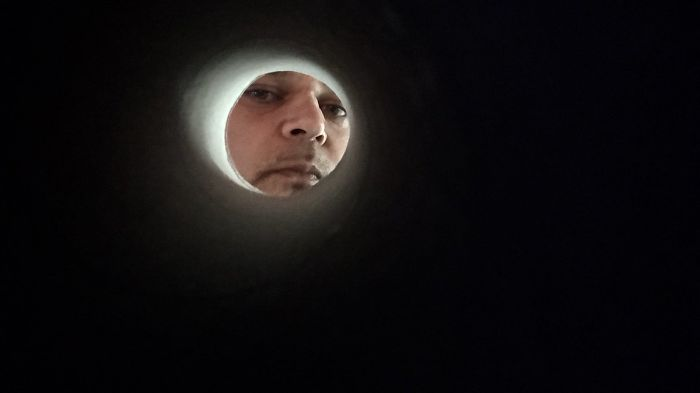 Simulando ser la luna