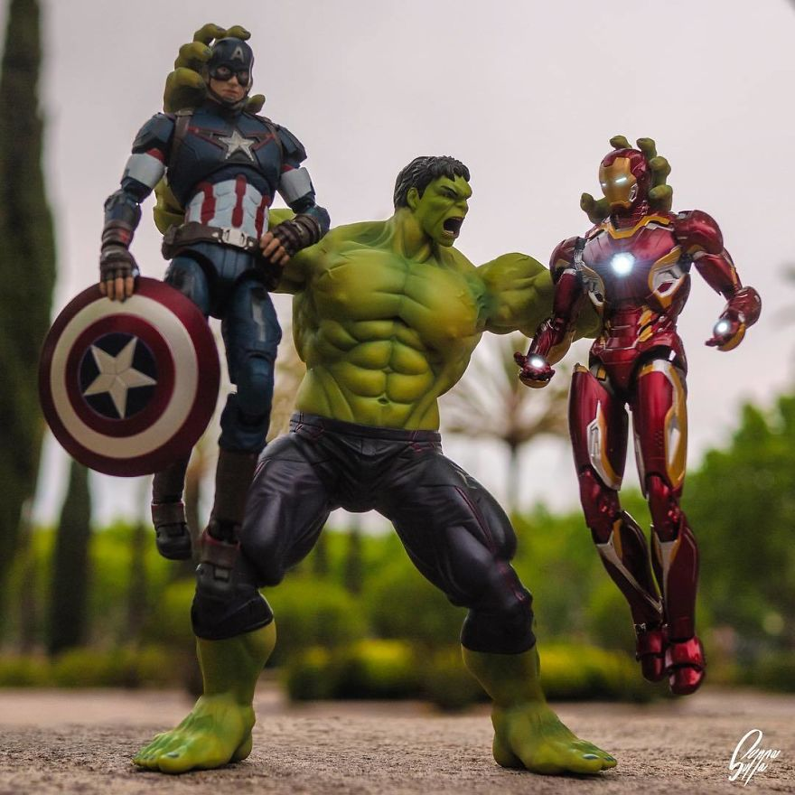 Hulk Don't Wanna Hear One More Peep Out Of You!