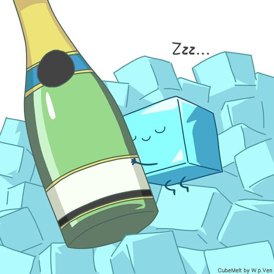 Job Of An Icecube - Hugging Your Champagne And Keeping It Cool