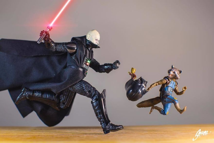 ...and Then The Guardians Met The The Lords Of The Sith