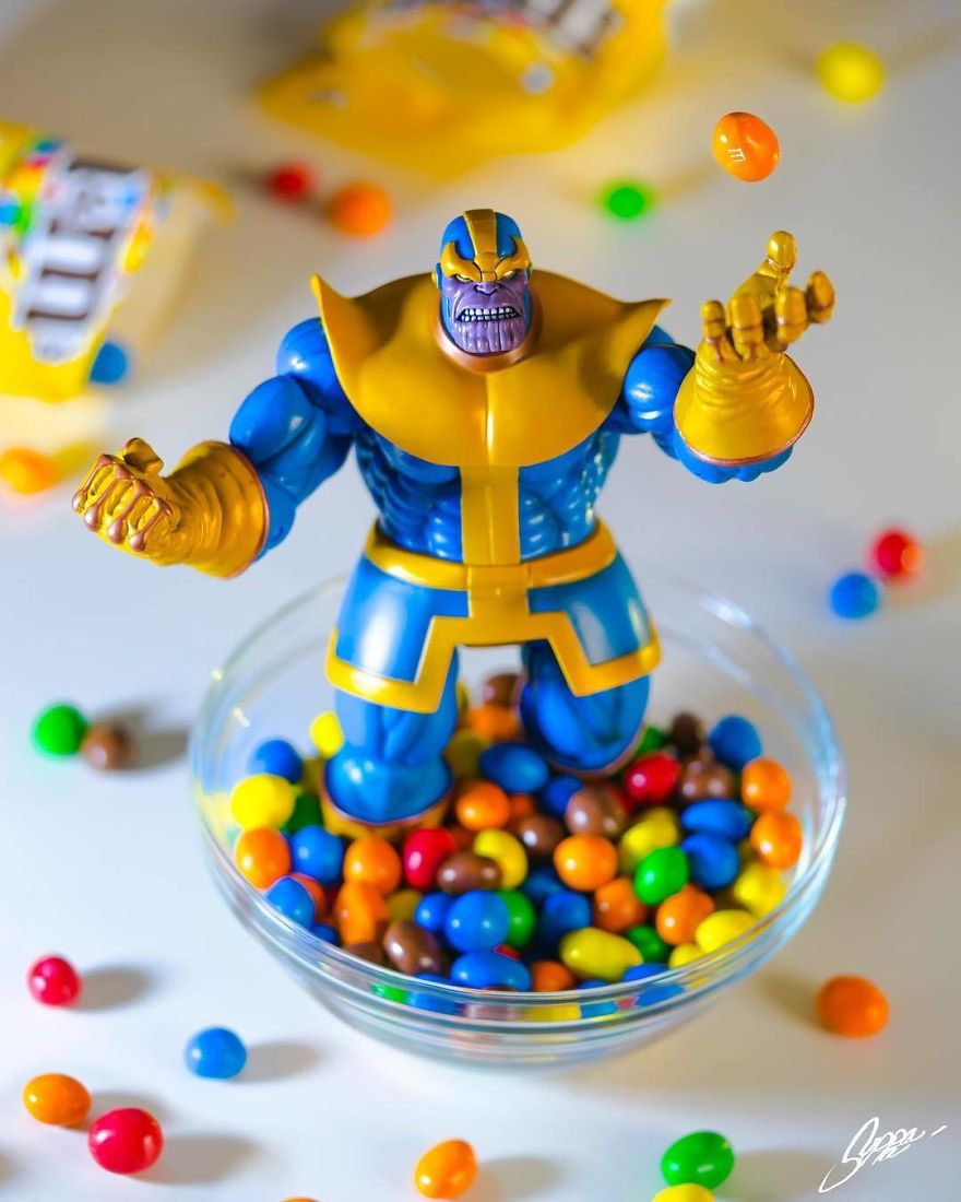 The Insatiable Search Of The Infinity Gems