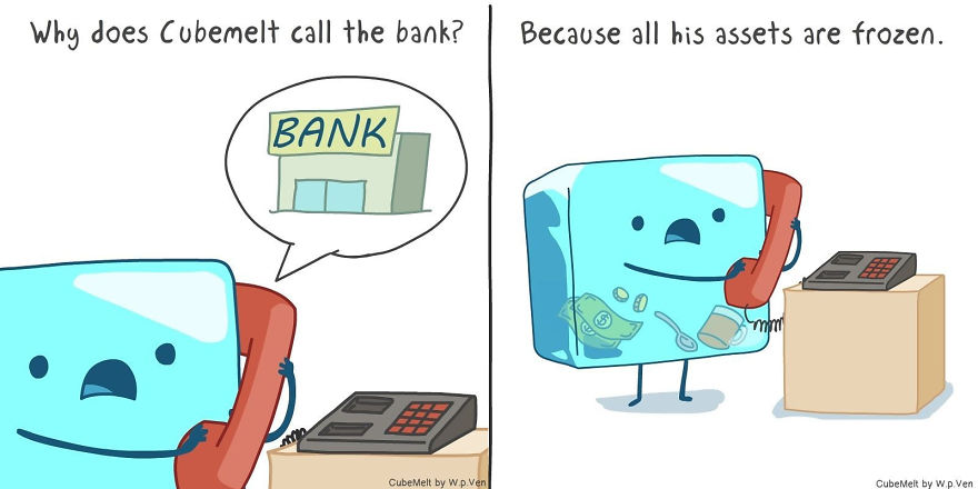Why Do You Think Cubemelt Calls The Bank?