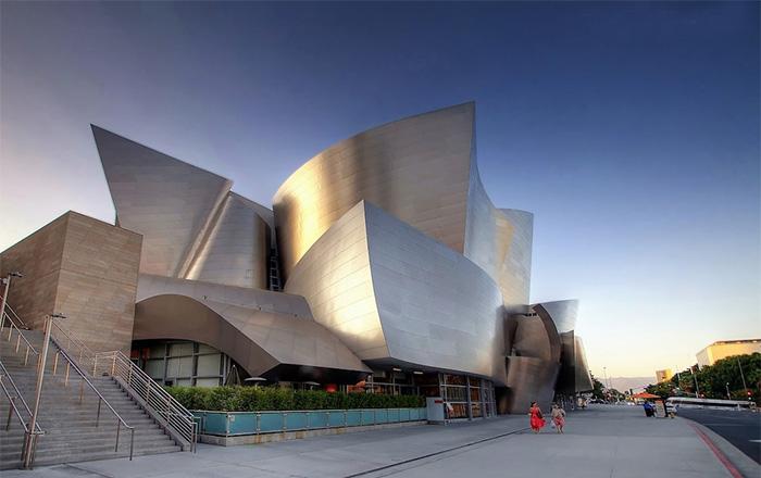 Koncertná sála Walt Disney v Los Angeles v Kalifornii