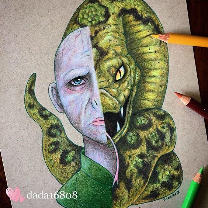 Voldemort & Nagini