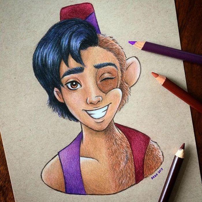 Aladdin & Abu
