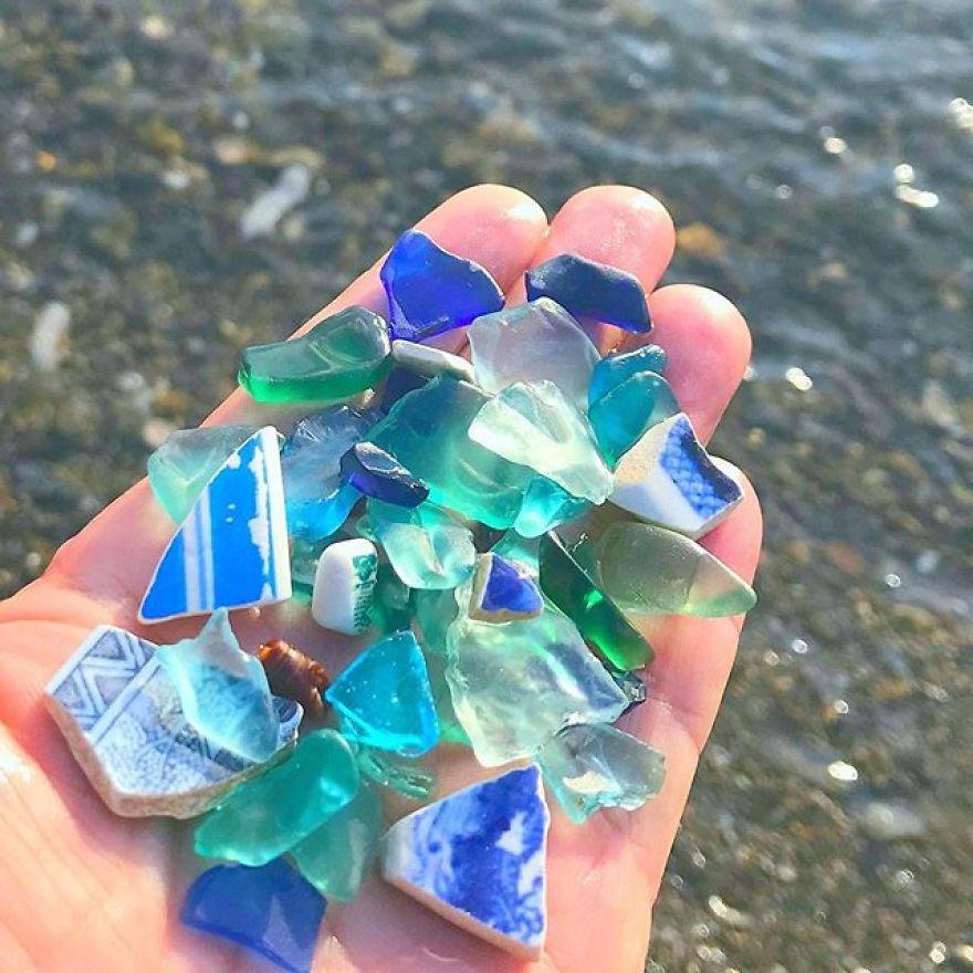 Blue, Green, Aqua, Turquoise, Seafoam, Navy... So Many Shades Of The Rare Color Blue