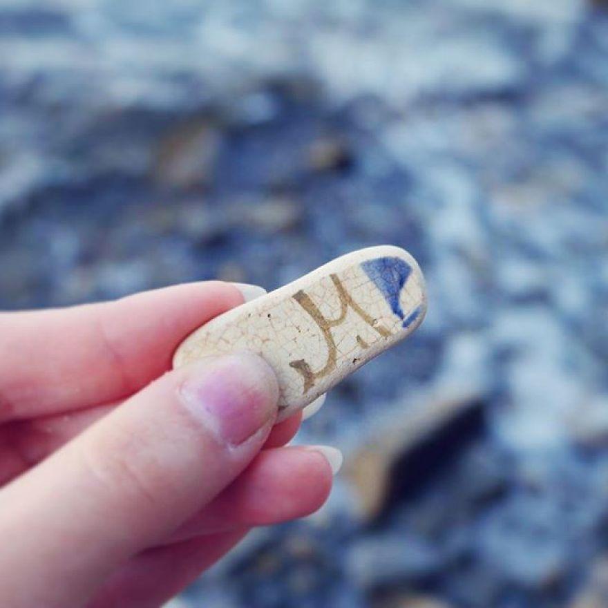 M Like Maristella - Beautiful Sea Pottery Piece