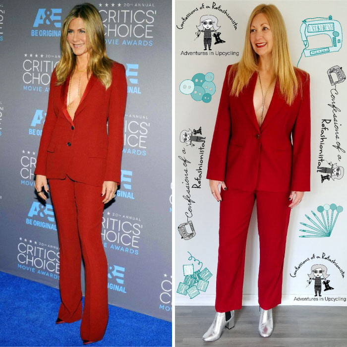 Jennifer Aniston. Total Outfit Cost: $0