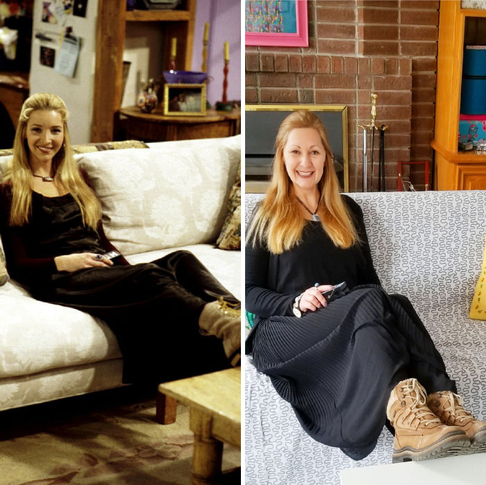 Phoebe Buffay. Total Outfit Cost: $2