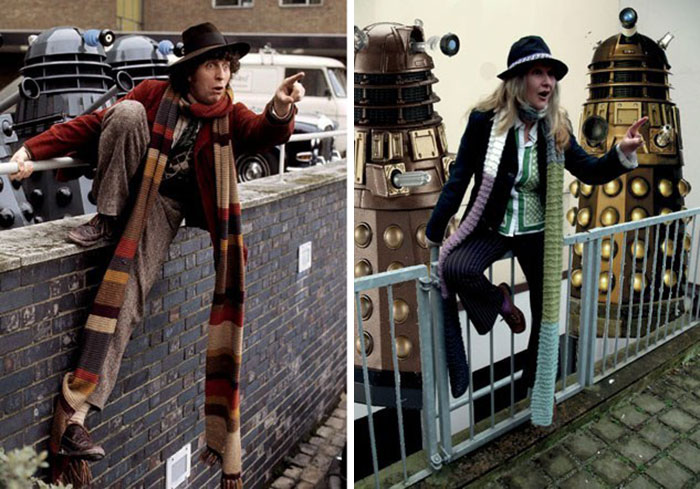 Dr. Who. Total Outfit Cost: $0