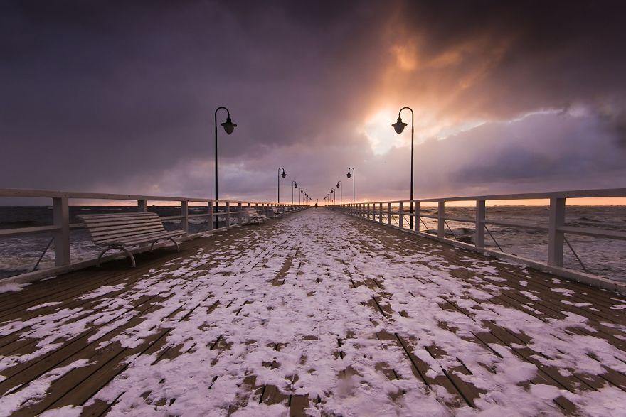 Pier In Orłowo