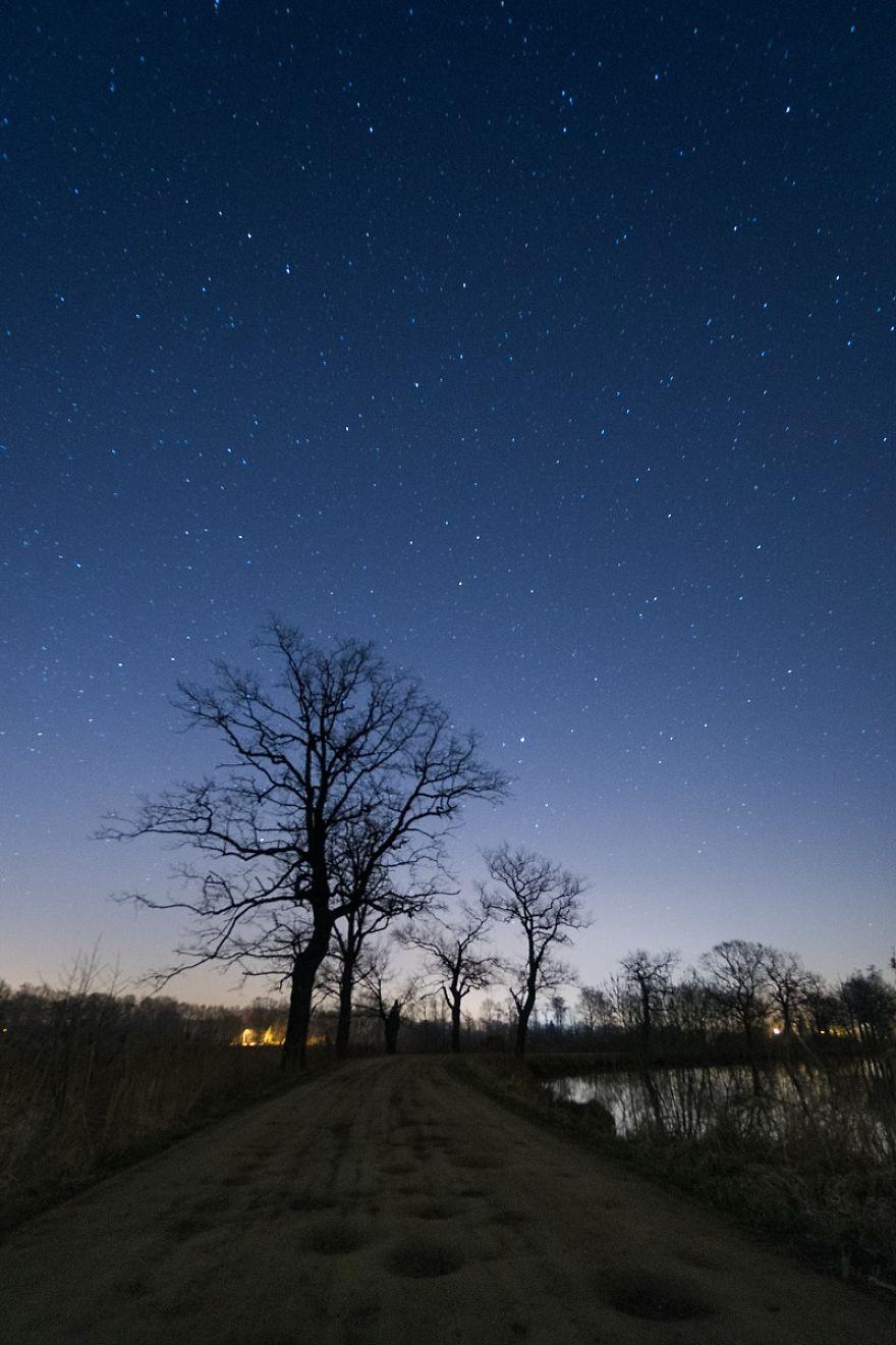 Clear Night In Brzeszcze