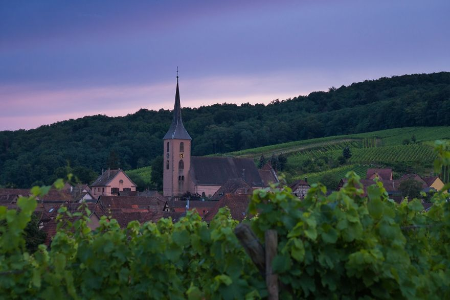 Beautiful Alsace In Eastern France