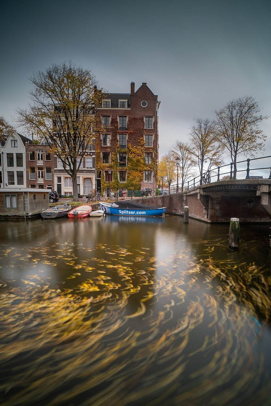 Cloudy Afternoon In Amsterdam