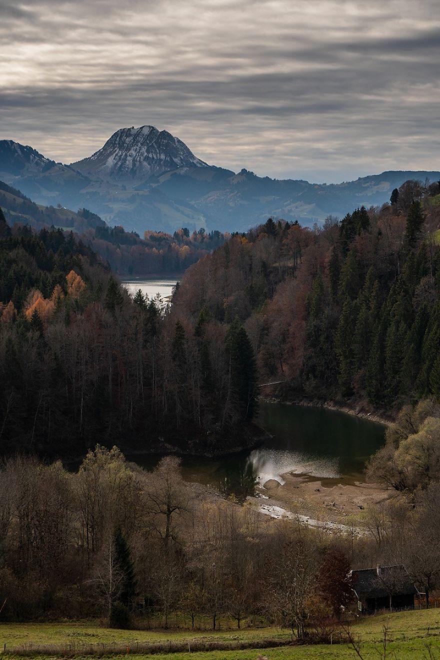 The View Of The Moleson Peak In Switzerland