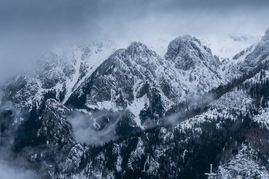 Cloudy Winter Tatras