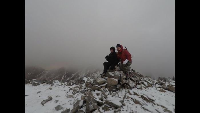 Hiking Up Stob Coire Nan Lochan In Glen Coe, Scotland!