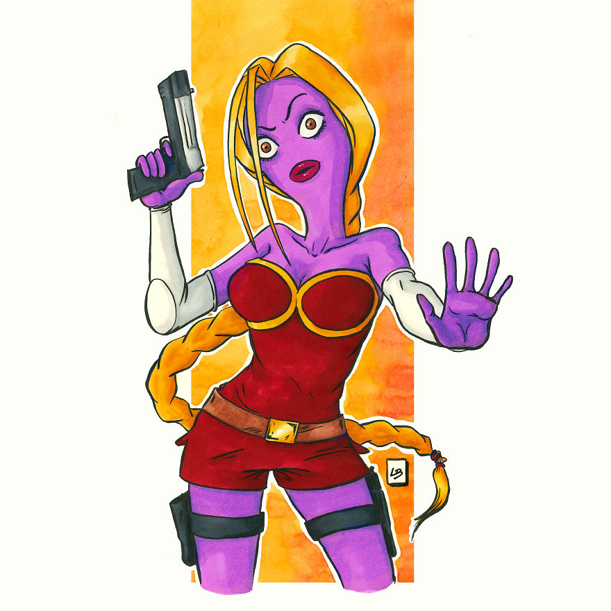 I Illustrated What Would Happen If Famous Cartoon Characters Fused Together, And Here's The Result (10 Pics)