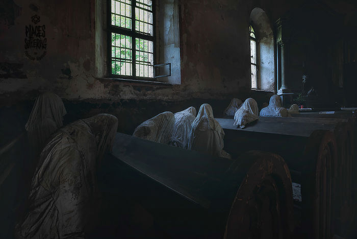 Damned Chappel- The Ghost Of A Place That Awaits The Holly Forgiveness .