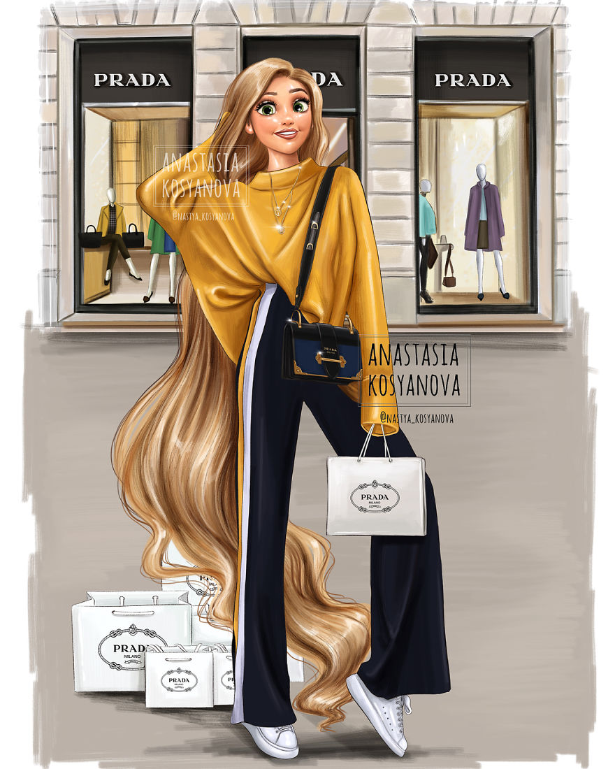 If Disney Princesses Discovered Today S Luxury Fashion