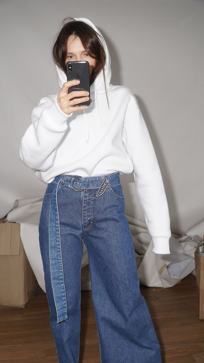 Asymmetrical Jeans Are The Next Big Fashion Release Of 2019, And People Don't Know How They Feel About It