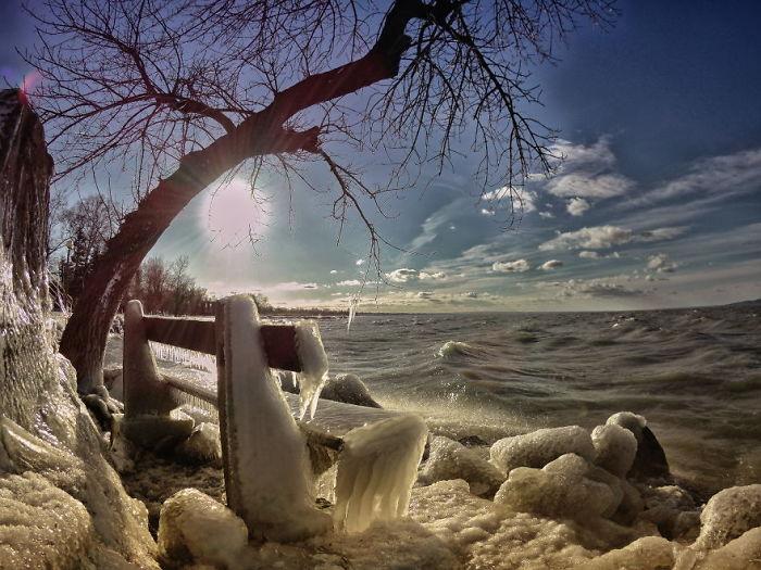 Зимний Балатон