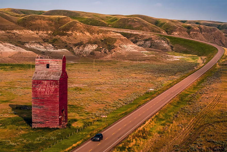 The Outskirts Of A Town Called Dorothy In Alberta, Canada By Justen Soule