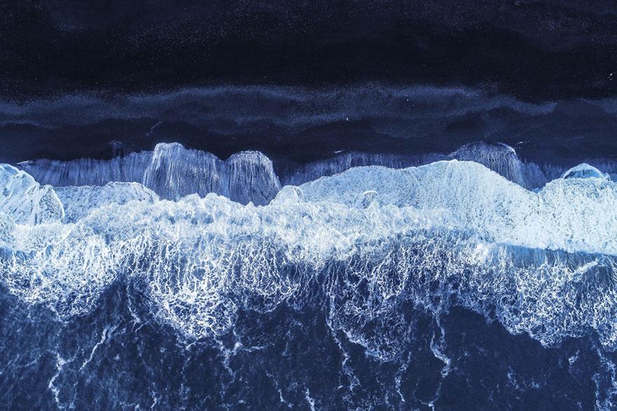 Black Sand Beach By Balazs3