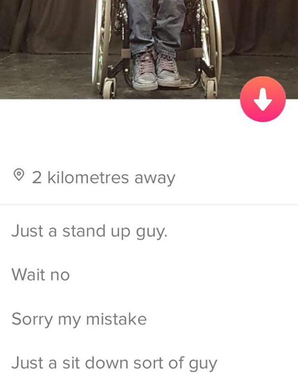 Not A Stand Up Guy But Still A Funny One Indeed