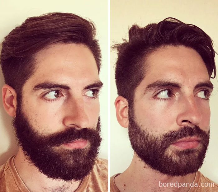 Rip Beard - Before And After