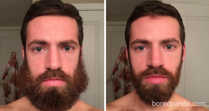 The Progression Of My Self-Trim Yesterday. Which Version Looks Best?
