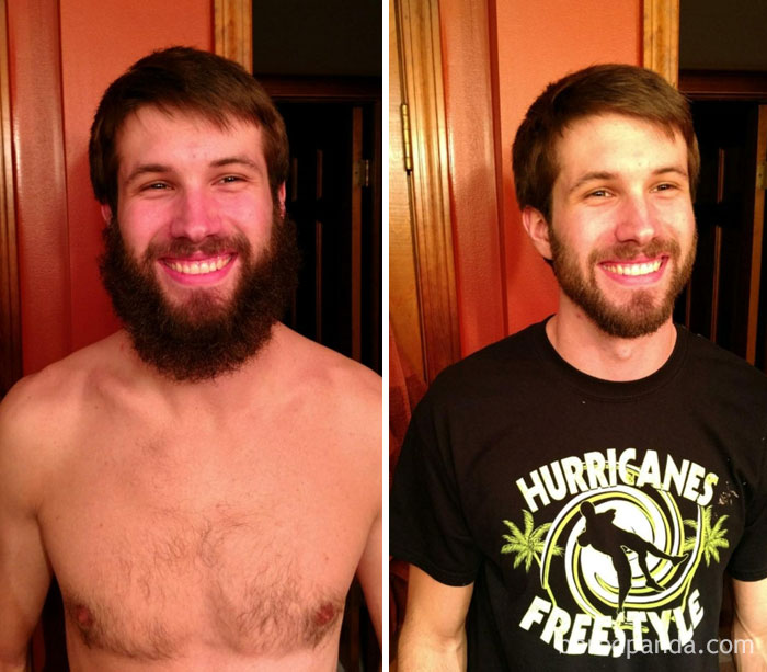 My Boyfriend Let Me Try Trimming His Beard And It Actually Turned Out Alright