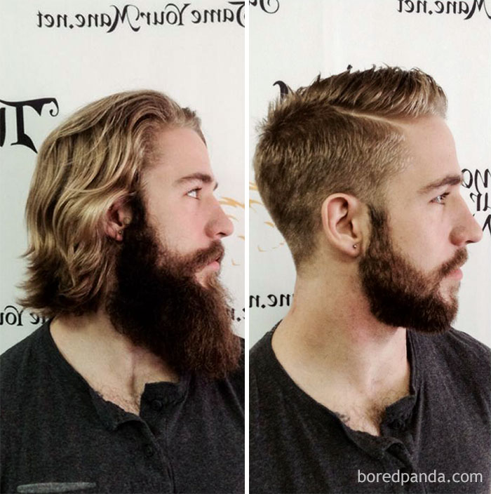 I Promised My Stylist A Good Before And After