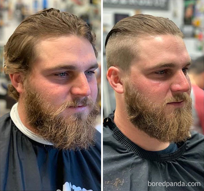 First Time At A Barbershop So We Gave Dale The Full Treatment!