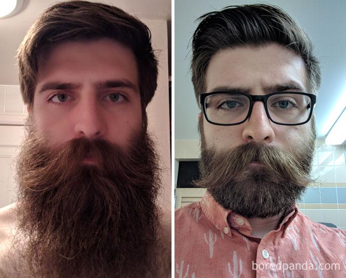 3 Year Beard To 3 Year Stache