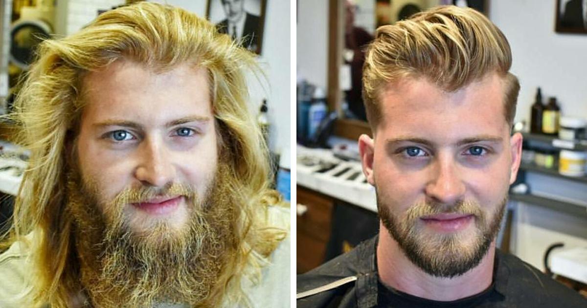 40 Increíbles transformaciones que muestran la diferencia entre una barba cuidada y una desaseada