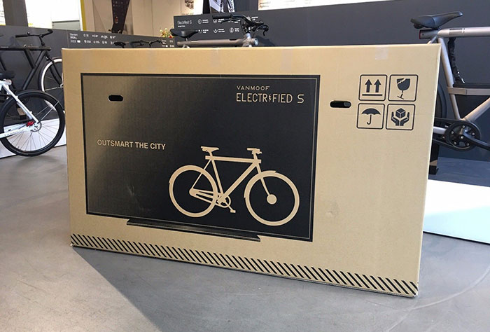Genius Dutch Company Creates Fake TV Packaging For Their $3,000 Bikes, Reduces Shipping Damage By 80%