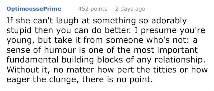 building a better girlfriend