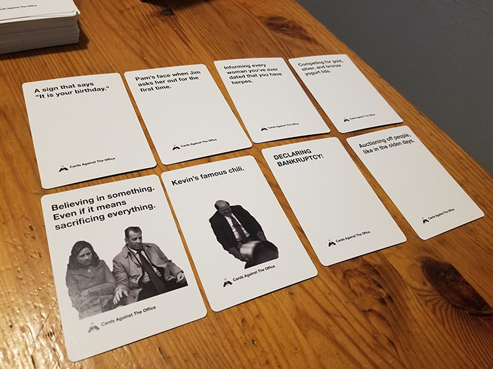 Someone Created A New Cards Against Humanity Version And Fans Of The Office Will Be Happy Bored Panda